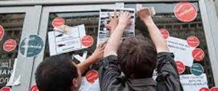 Возбуждено уголовное дело о надписях на Госдуме