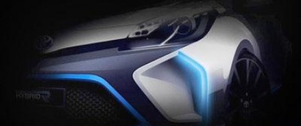 Toyota показала дизайн нового концерна Hybrid-R