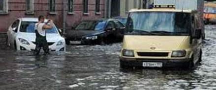 За один день в Москве выпала месячная норма осадков