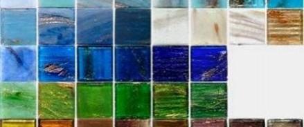 Облицовочная стеклянная плитка — украшение интерьера