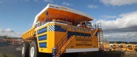 Новый БелАз грузоподъёмностью 450 тонн