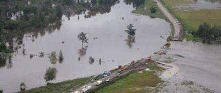 Уровень воды в Хабаровском крае продолжает расти