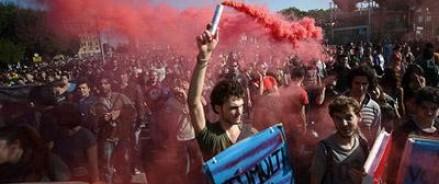 В Риме в результате беспорядков пострадали 20 полицейских