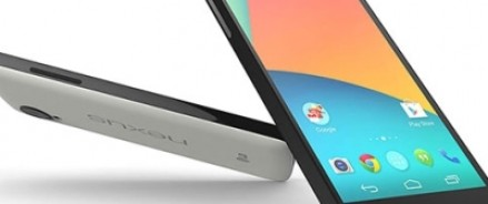 LG совместно с Google презентовали смартфон Nexus 5