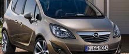 Известны цены обновленной версии минивэна Opel Meriva