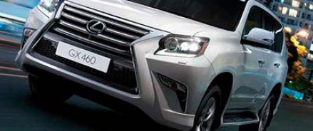 Сегодня стартуют продажи внедорожника Lexus GX 460