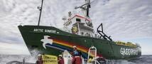 Задержанных активистов Greenpeace с корабля Arctic Sunrise переводят в Санкт-Петерург