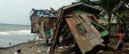 Самый мощный за всю историю тайфун обрушился на Филиппины