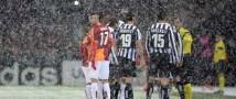 «Галатасарай» вырвал победу у «Ювентус» — тренер не доволен обледеневшим полем
