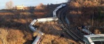 Машинист перекинувшегося поезда в Нью-Йорке заявил, что причина – неисправные тормоза