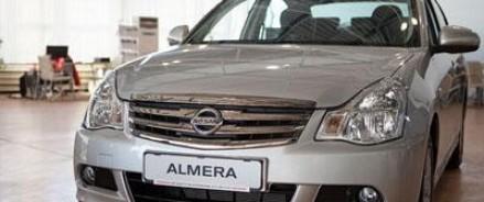 Nissan Almera российской сборки станет дороже на 7000 рублей