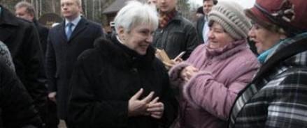 Вдова и сын Солженицына прибыли в Рязань