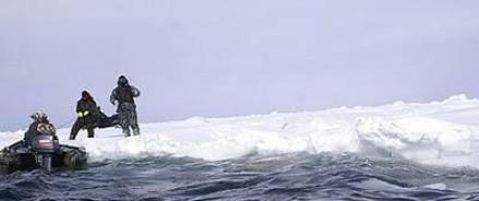 Пять рыбаков на Сахалине оказались на дрейфующей льдине