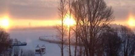 Над Казанью взошло три Солнца