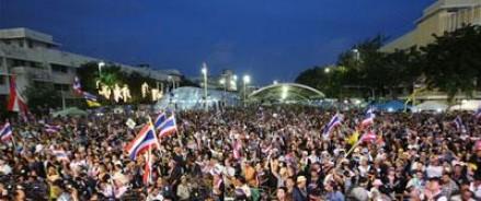 В Таиланде оппозиция начала блокировку Бангкока
