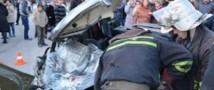 В Севастополе произошло ДТП с участием российских военных