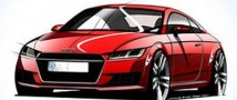 «Audi» представила эскизы нового «ТТ»