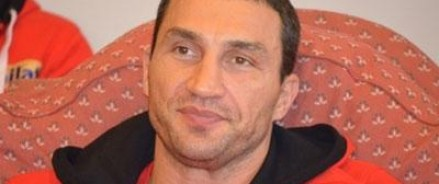 Владимир Кличко заранее извинился за предстоящий бой