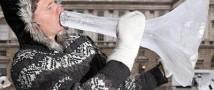 В Мурманской области состоится выступление норвежца на ледяных музыкальных инструментах