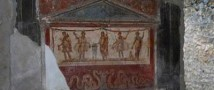 Итальянские вандалы украли часть фрески с изображением Артемиды