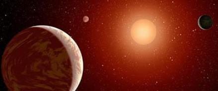 В космическом пространстве обнаружен двойник планеты Земля