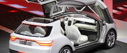 «Крылатый» автомобиль Clipper был представлен итальянцами в Женеве