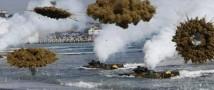 КНДР ведет артиллерийский залп возле границ с Южной Кореей