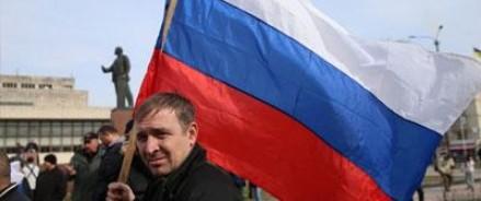 Тысячи людей пришли в Москве на шествие в поддержку Украины