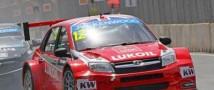 Команде «Lada» удалось занять пятое место в первой гонке Чемпионата мира по турингу