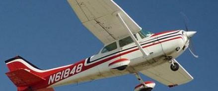 Два легкомоторных самолета столкнулись в небе в США