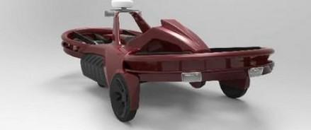 Уникальное предложение автомобильного рынка – летающий мотоликл Aero-X