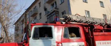 В Омске из горящей пятиэтажки удалось спасти тридцать жильцов