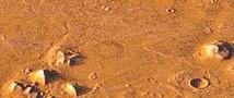 На Марсе была обнаружена надгробная плита с деревянным крестом