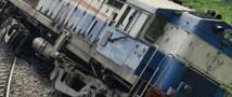 В Индии с рельс сошел пассажирский поезд