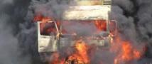 В Челябинске сгорело около 20 «МАЗов»