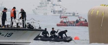 До 259 человек увеличилось число погибших на южнокорейском пароме «Севол»