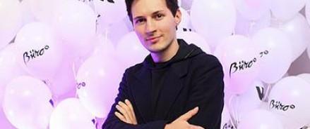 Telegram Дурова получил премию как самый быстрорастущий стартап в Европе