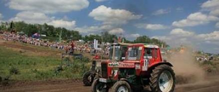 В Ростовской области стартуют гонки на тракторах