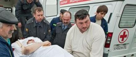 В результате падения микроавтобуса в ущелье в Дагестане, погибло 10 человек