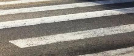 В Москве полицейский сбил женщину на пешеходном переходе