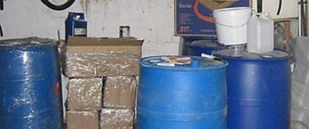Полицейским удалось изъять крупную партию подпольной алкогольной продукции