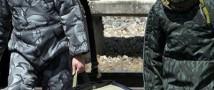 В горах Чечни работает робот-сапер
