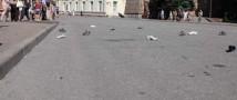 В Смоленске состоялся чемпионат по метанию обуви
