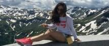 Певице Виктории Дайнеко удалось покорить гору Эдельвейс