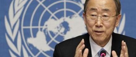 Пан Ги Мун просит собрать экстренное совещание по Ближнему Востоку