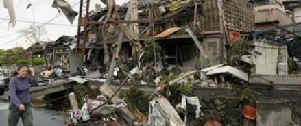 В Японии из-за смерча повреждено 350 жилых зданий
