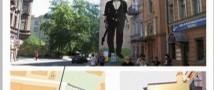Портрет В. Цоя будет и дальше украшать центр Санкт-Петербурга