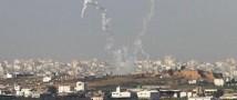 Израиль нанес пять ударов по территории сектора Газа