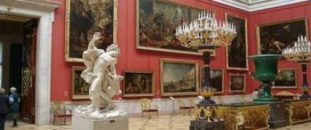 Эрмитаж  — лучший европейский музей