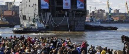 Франция не планирует передавать России первый «Мистраль»